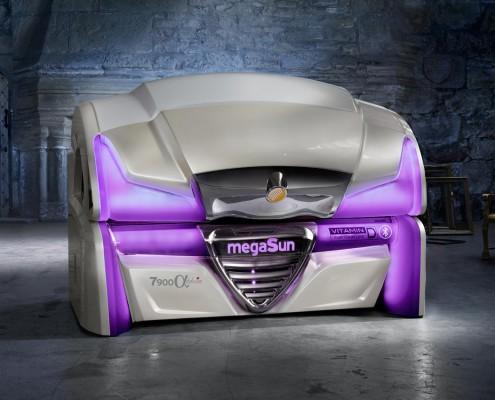 łóżko do solarium megasun 7900d-1