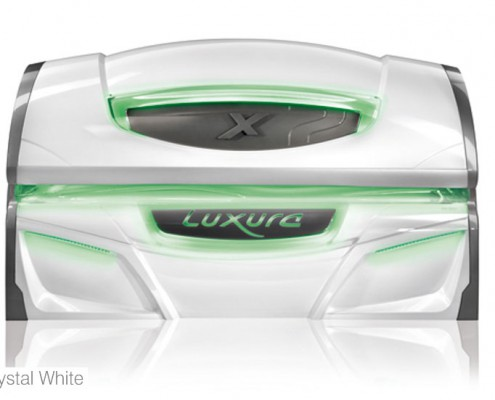 solarium luxura crystal-white