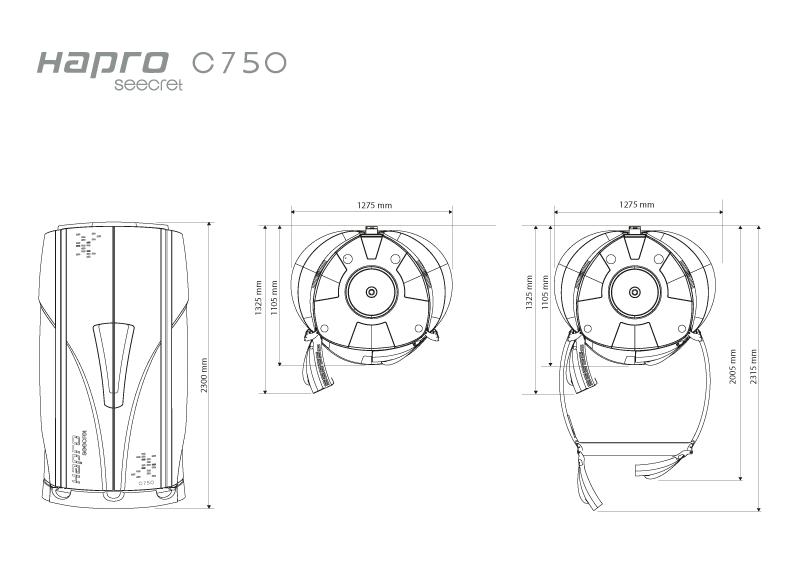 Dimentions-C750